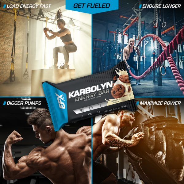 Karbolyn Energy Bar Cookies & Cream