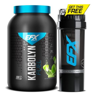 Karbolyn Fuel Green Apple 4 lb With Free EFX Cyclone Shaker