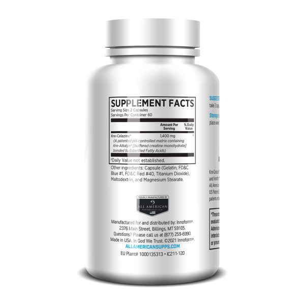 Innoform Joint Rehab Capsules Supplement Facts