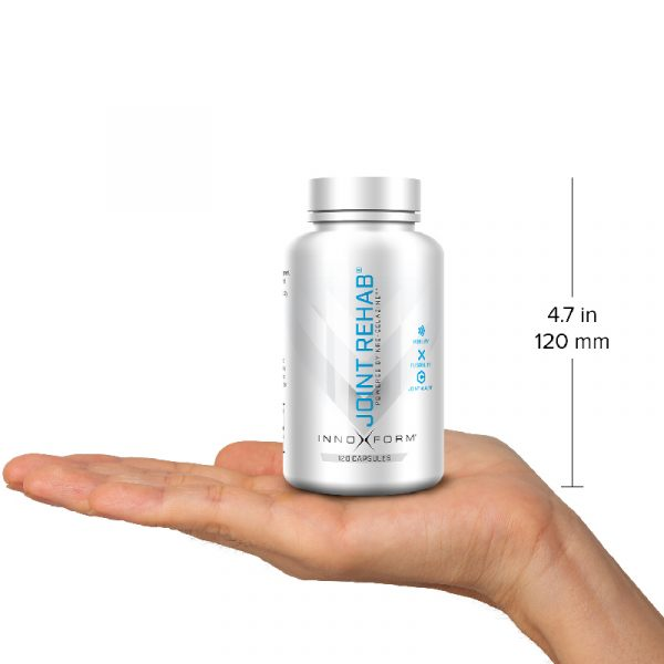 Innoform Joint Rehab Capsules Front View In Hand