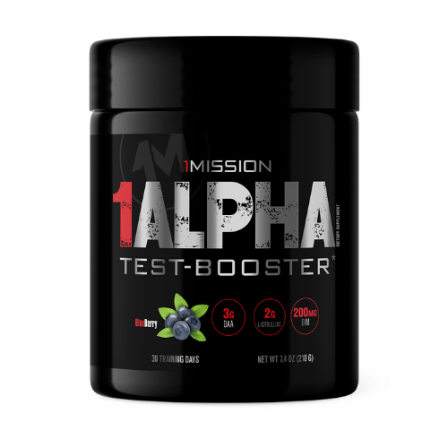 1Aplha Test-Booster Blueberry