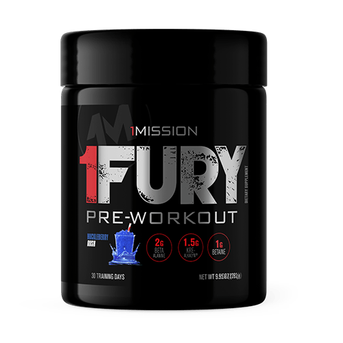 1Fury Pre-Workout Huckleberry Rush