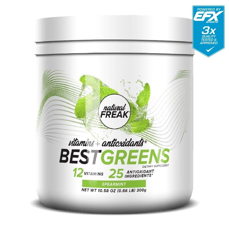 Natural Freak Best Greens Spearmint