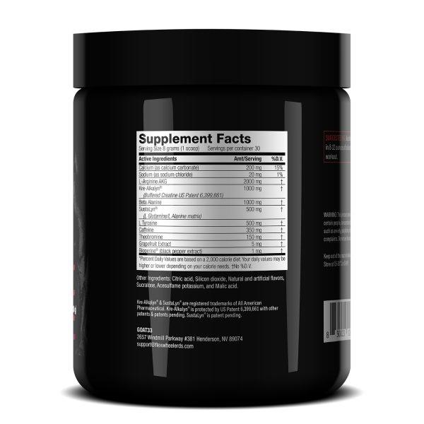 Flex Wheeler Signature Series - 4Play Supplement Facts